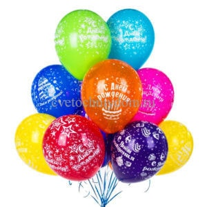 gel ris min 300x300 - Balloon with pattern